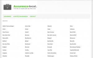 Assurance Local : trouvez un courtier d'assurance ou une compagnie d'assurance