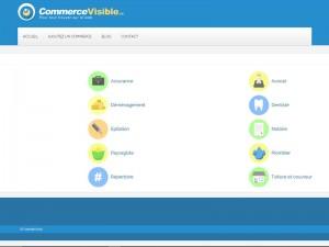 Commerce visible – Répertoire généraliste