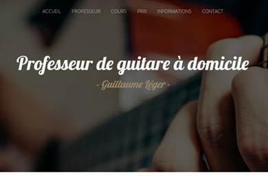 Cours  de guitare à La Prairie – Brossard – Candiac – Saint-Hubert…